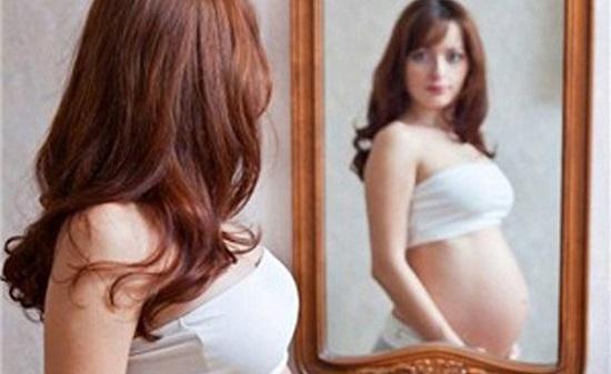 Cắt tóc khi mang thai